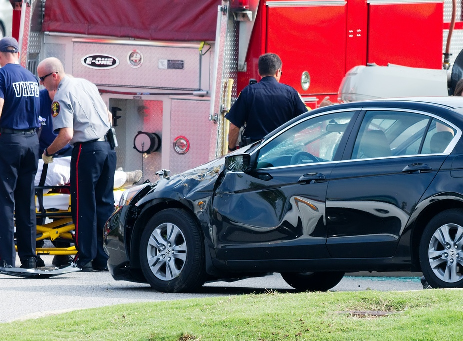Death From Car Accident Traumatic Pulmonary