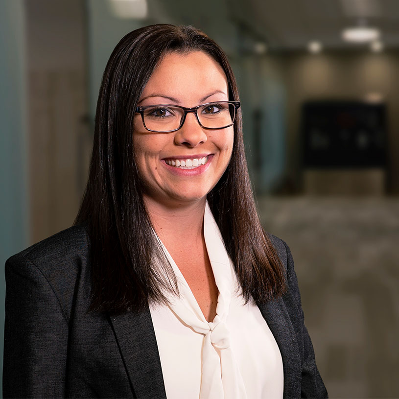 Amber Darr, paralegal at Zevan Davidson Roman Law Firm