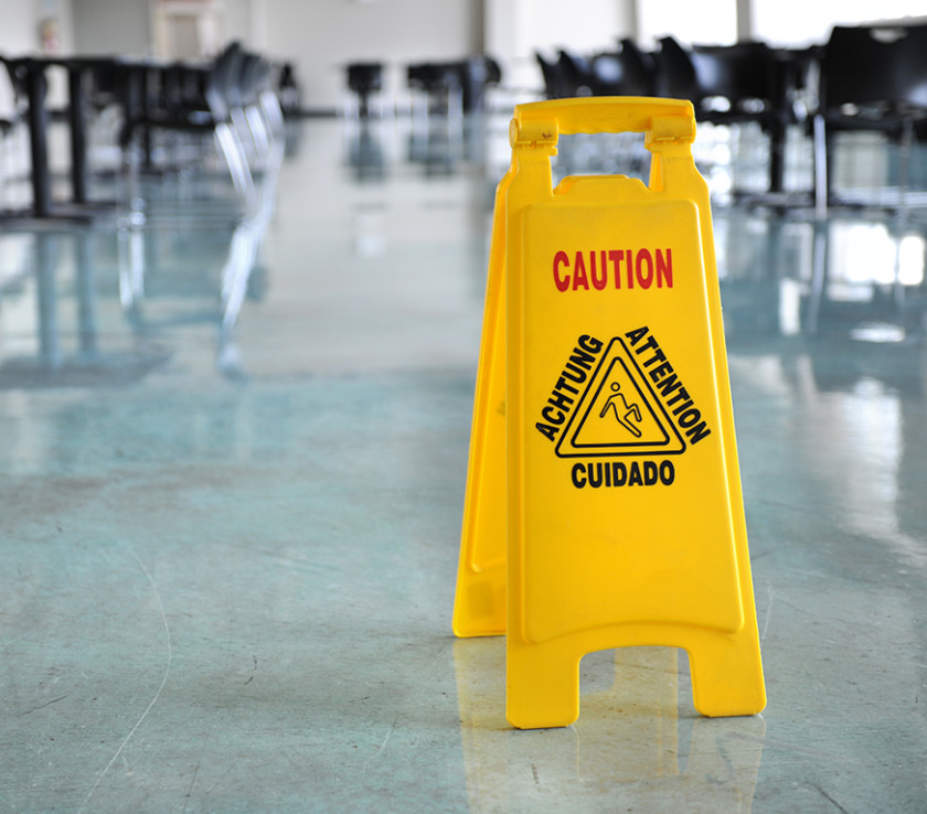 Wet floors or unkept premises can result in a slip and fall. If you have been injured by these conditions, contact an expert personal injury attorney.